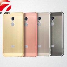 Для Xiaomi Redmi Note 4×32 ГБ случае Snapdragon 625 Металл Алюминий Рамка бампер матовый трудно PC задняя крышка Для Redmi Note 4 Глобальный