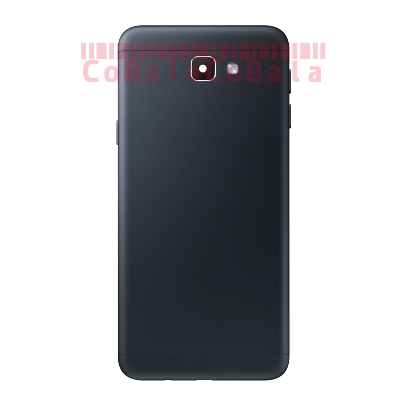10Pcs Original For Samsung Galaxy J5 J7 Prime ON5 ON7 G570 G610 Back Battery Cover Glass Housing+Side Key+Camera Frame