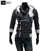 10 Farben Neue Männer Hoodies Sweatshirts Casual Männlichen Reißverschluss Pullover Slim Fit Männer Kapuzenjacke Größe M-5XL