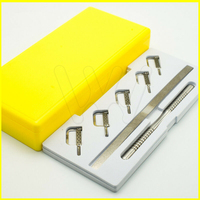 1 Set Dental Reciprocating IPR System Kit Automatic Strips 5 pcs with Manual Handle for dental orthodontic treatment
