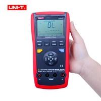 UNI T UT612 USB Интерфейс 20000 отсчетов индуктивность частота Тесты отклонение отношение LCR метров с коробкой