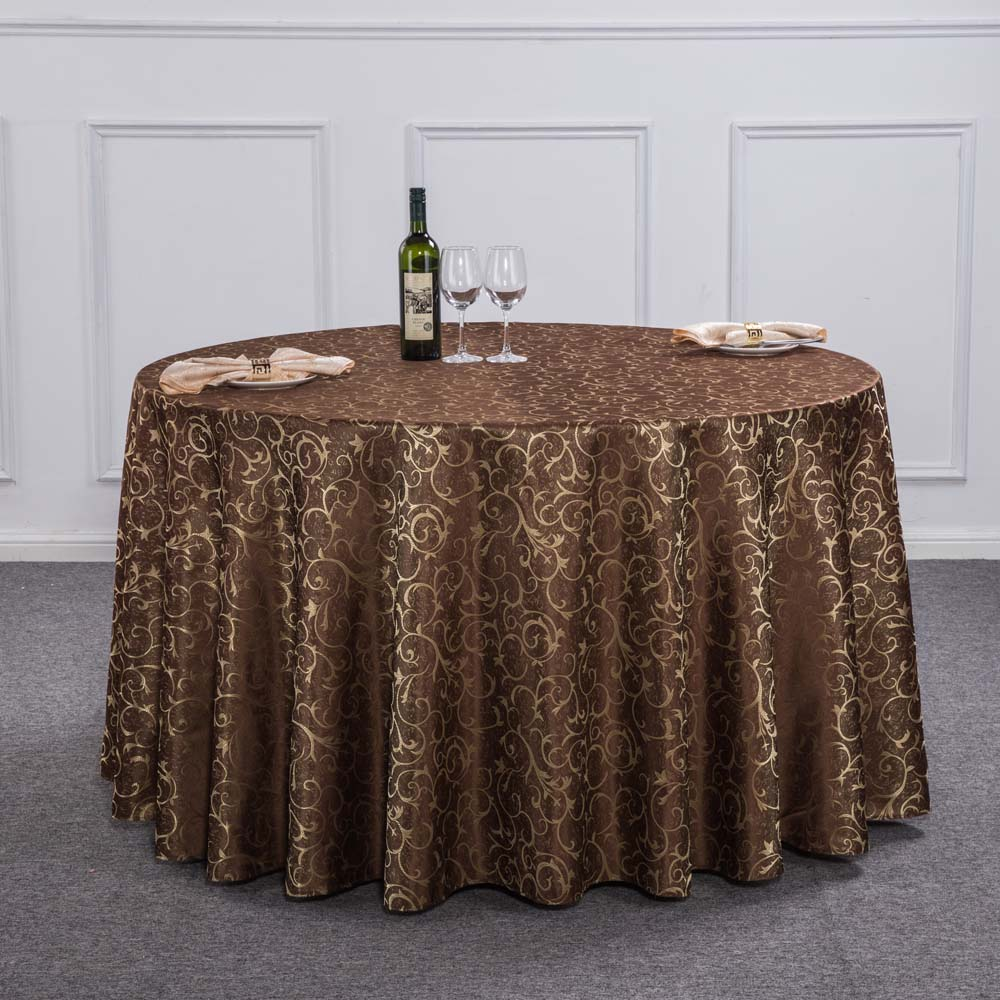 New Luxury Crocheted Gold Leaf Red Round Table Cloth For Hotel Restaurant  Decor Rectangle Washable Tablecloth For Wedding Party In Tablecloths From  Home ...