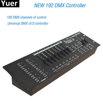NEW 192 DMX Controller DJ Equipment DMX 512 Console Stage Lighting For LED Par Moving Head Spotlights DJ Disco Stage Controlle 2xlot big discount 6 channel simple dmx controller for stage lighting 512 dmx console dj controller equipments free shipping