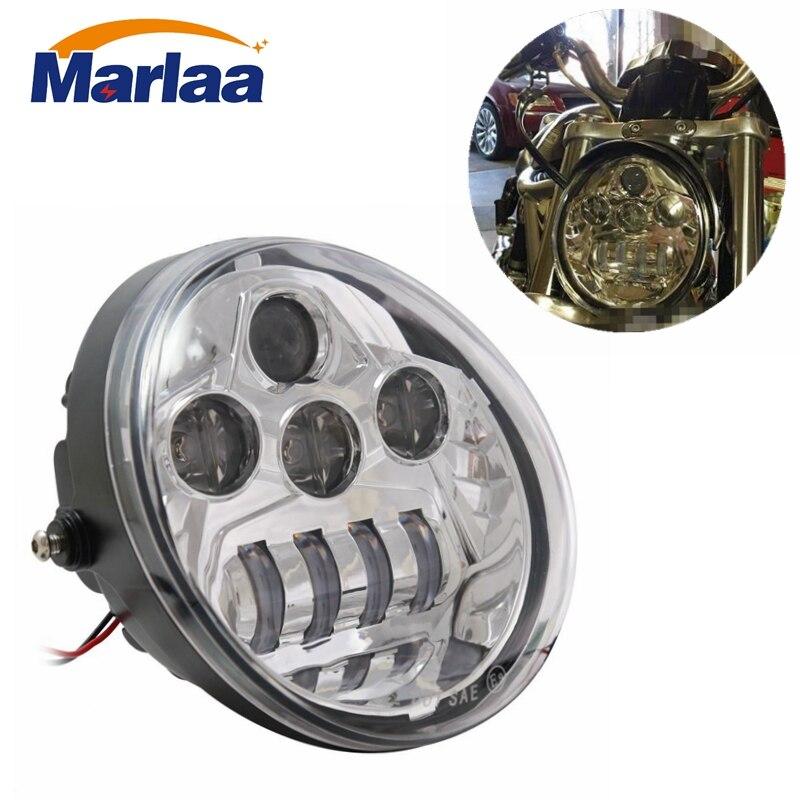Newest LED Headlight For Harley Davidson V ROD v-rod VRod VRSC VRSCA VRSCDX 02-17