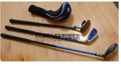 2017 Golf clubs children 's sets of clubs 3-5 year - old boy full set