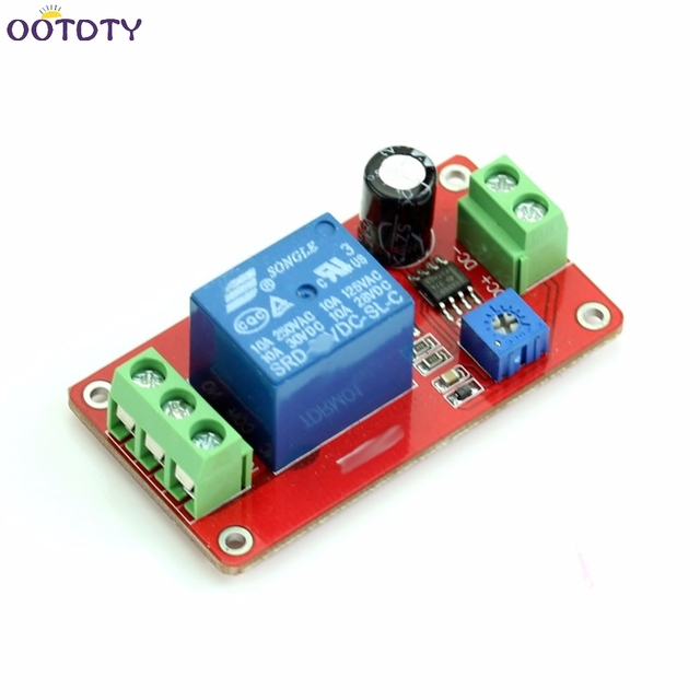 adjustable delay switch 1 to 20 second dc 12v delay timer relay rh aliexpress com