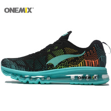 2016 Onemix Hot Sell Men's Sport Running Shoes Music Rhythm Women's Sneakers Breathable Mesh Outdoor Athletic Shoe
