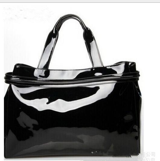 2017New лакированная кожа PU женские сумки яркий кожи euramerican популярность сумочка