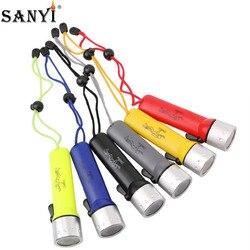 Berufs Tauchen Taschenlampe 1200Lm Q5 LED Scuba Dive Taschenlampe Beleuchtung Licht Wasserdichte Tragbare Laterne