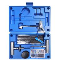 4 in 1 Tool Heavy Duty Tire Repair Kit For Car Truck RV Jeep ATV Motorcycle Tractor Trailer Flat Tire Puncture Repair Kit