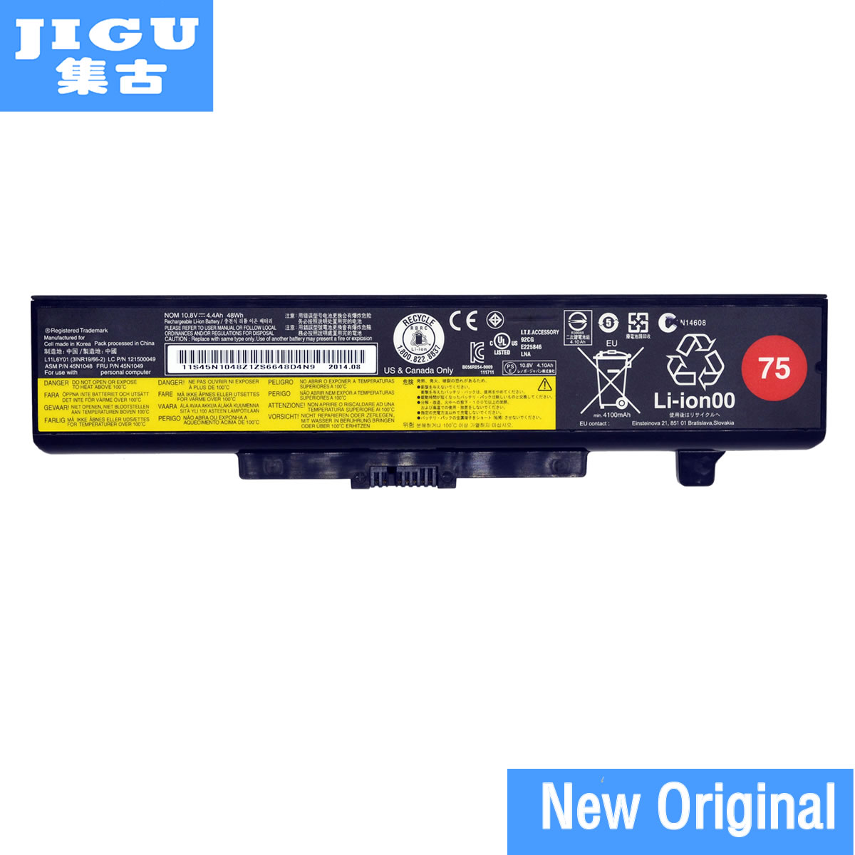 JIGU Original Battery For Lenovo For IdeaPad Y485p Y480 B590 G710 N581 G700 P585 B490 Series For ThinkPad E540 E440 E531 E431