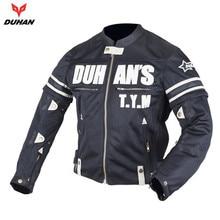 DUHAN Summer Motorcycle Enduro Racing Jacket Breathable Mesh Travel Riding Dirt Bike ATV Motocross Off-Road Jaqueta Clothing