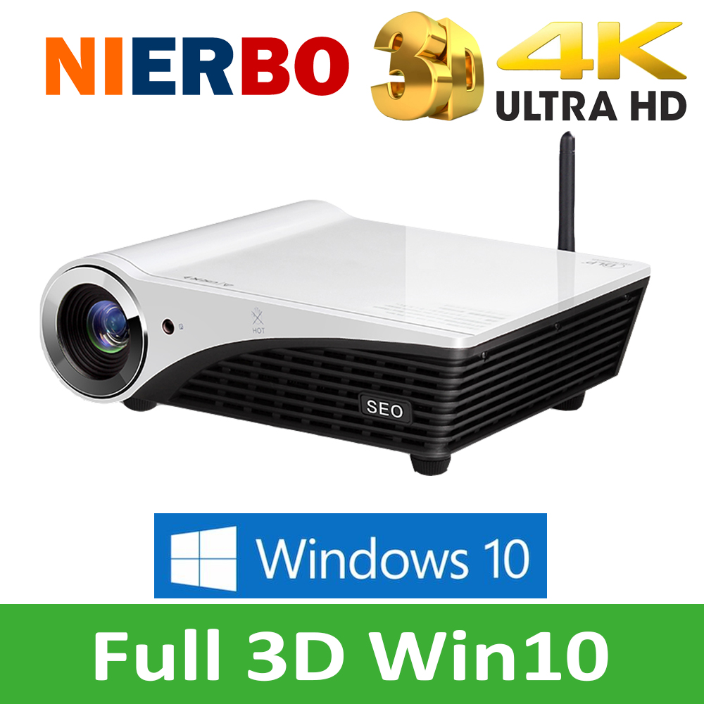 4k 3d projector full hd video mini portable projectors for Mini hd projector