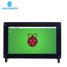 "SunFounder 7 ""IPS Monitor de Pantalla 1024*600 HD LCD de Altavoces de Audio HDMI/VGA/NTSC/PAL Pantalla para Raspberry Pi 3,2 Modelo B +/A + B"