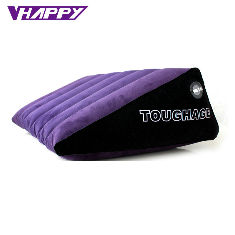 TOUGHAGE Triangle Inflatable sofa bed sex Cushion adult sex furniture for couples Erotic Products sex pillow toys TG016-PF3201 new 2pcs set toughage inflatable sex love cushion adult sex furniture sofa cushion sex machine for men adult sex toys for women