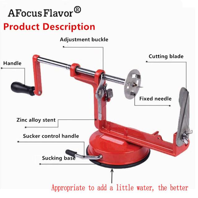 1 Pc Potato Twister Potato Slicer Stainless Steel Kitchen Accessories Tornado Slicer Manual Cutter Spiral Chips