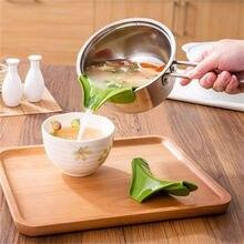 Новые кухонные гаджеты утечка супа дефлектор анти-разлива жидкости утечки рот повара части