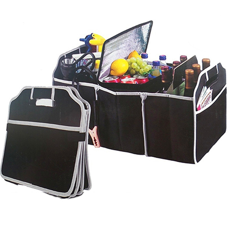 No More Mess In Trunk Car Trunk Storage Tools Carry Bag Box Car Boot Tidy Organiser For SKODA Kodiaq Large Car Trunk Boot Organizer Organiser Tidy Bag Waterproof Car Boot Storage Durable Heavy Duty