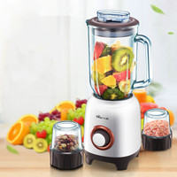 Bear Baby Food Cooking Machine 3Cups3Blades Household Multifunctional Kitchen Aid Meat Grinder Stand Food Mixer Juicers Blenders