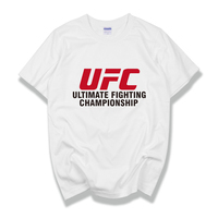 2019 NEW Ultimate Fighting Championship Ufc Genuine Fitness T shirt Bodybuilding Gym Conor McGregor Men Short Casual T shirt