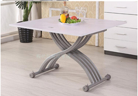 Changed The Small Family Of Tea Table Square The Multi Function Folding Lifting Tea Table The