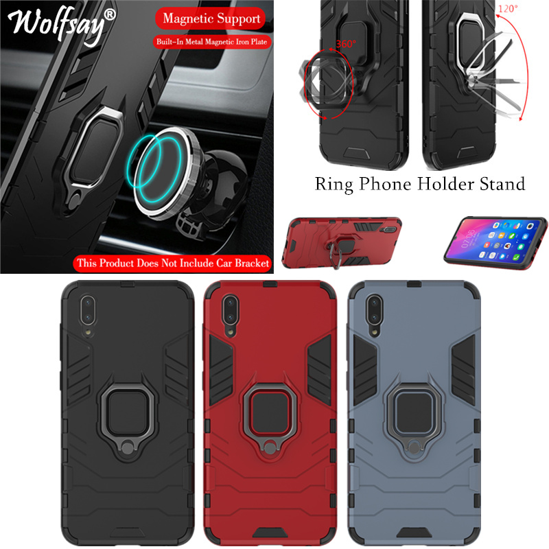 Phone Holder Finger Ring For Vivo Y97 Case Magnet Armor Fashion Cover on the For Vivo Y97 Phone Case Vivo Y97 V181A Cover Coque