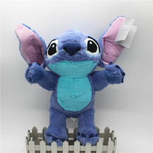 38cm Lilo and Stitch Toy Magician Stitch Angel Plush Figure Cute Stuffed Animals Baby Kids Toys for Children Christmas Gift цена 2017