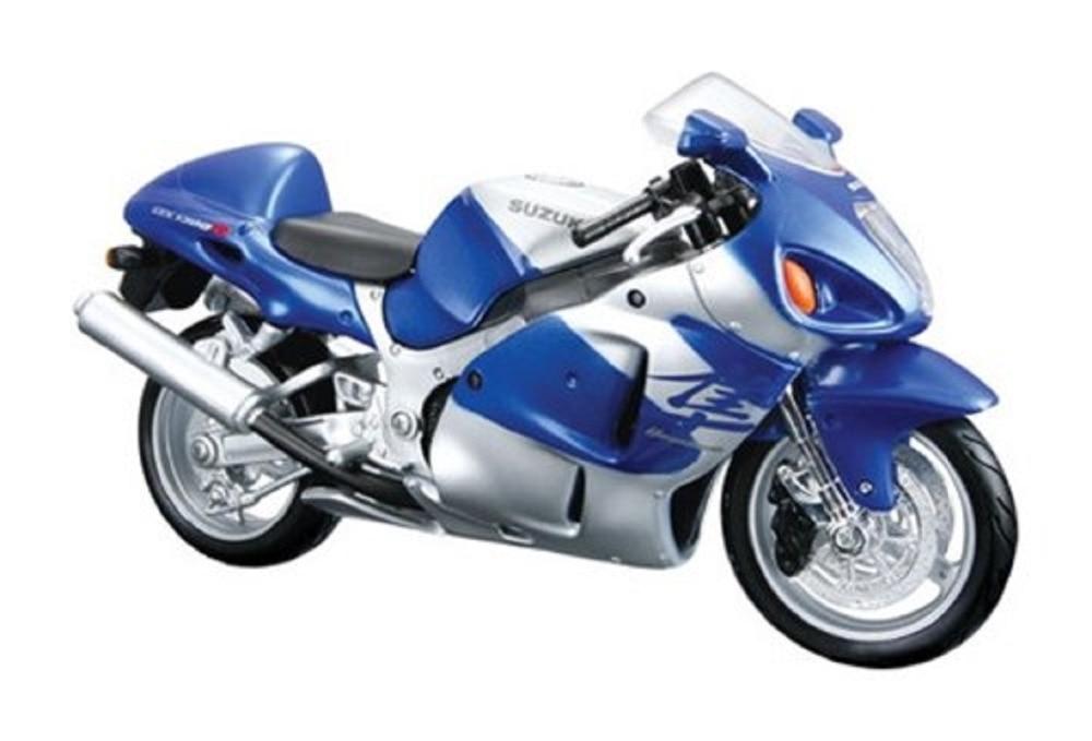Maisto 1:12 31103 Suzuki GSX 1300R Blue Hayabusa MOTORCYCLE BIKE Model FREE SHIPPING