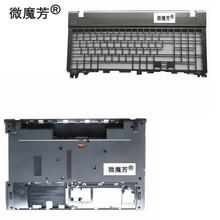 NEW Laptop Bottom Base Case Cover Door&Palmrest keyboard for Acer for Aspire V3 V3-551G V3-571G V3-571 Q5WV1 V3-531 V3-551G