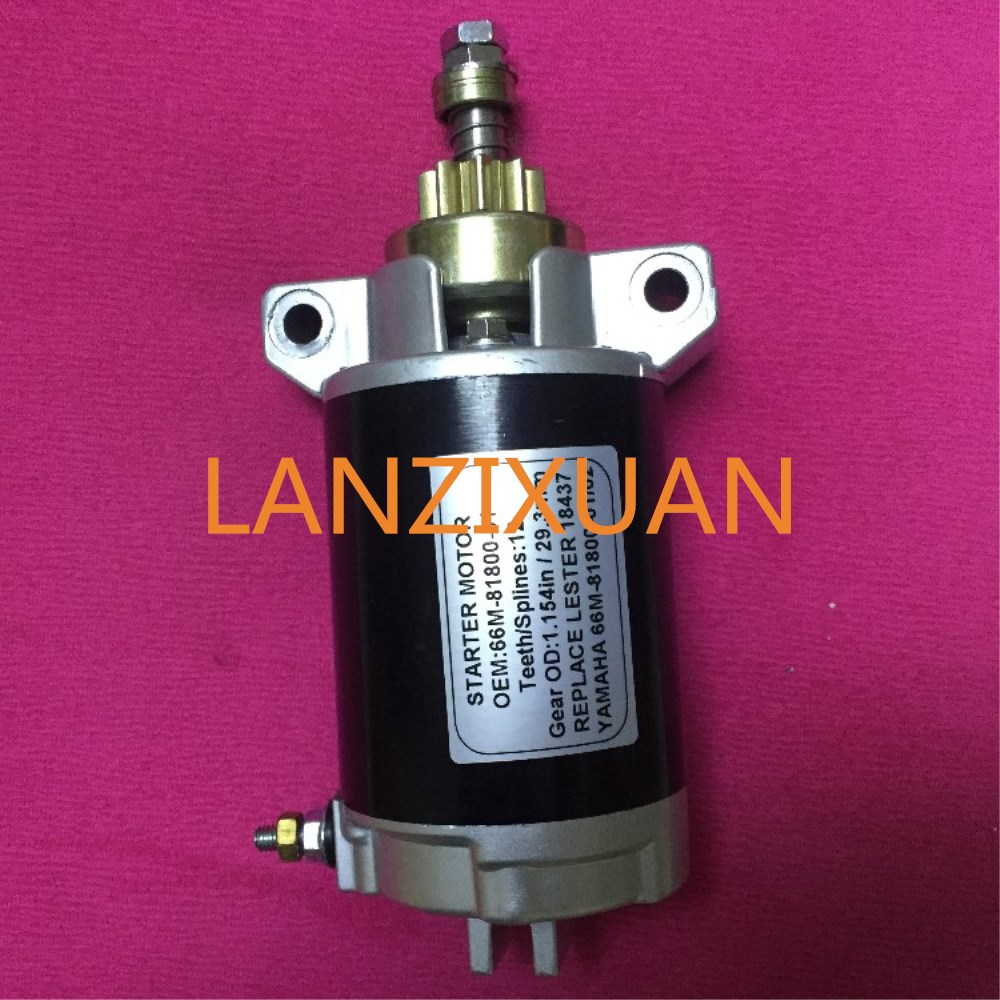 66M-81800 Outboard Motor Starter For YAMAHA Outboard Engine F15ESH 66M-81800-01 66M-81800-00