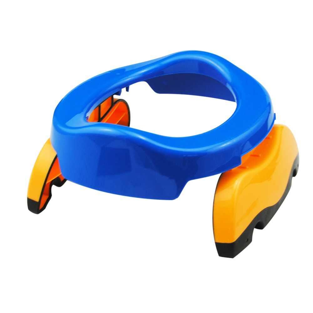 1 шт. детское пластиковое туалетное сиденье для младенцев, горшки для помещений, кольцо для детей, детские кроссовки, портативная горшок, туалет, складное удобное кресло