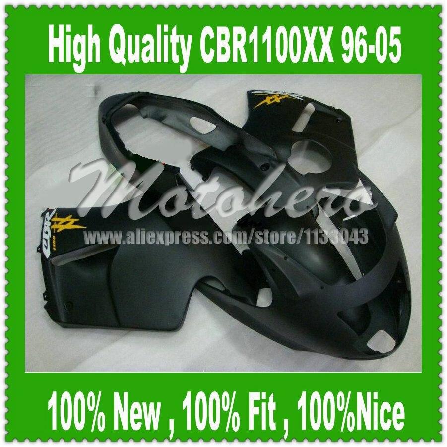 Fairing kit for Honda CBR1100XX 96-05 CBR1100 XX 96 05 1996 2005 Matt Black CBR 1100XX 96 05 CBR 1100 XX 96 05 D353d