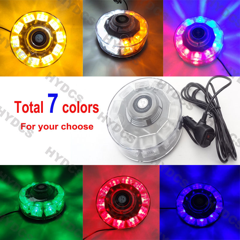 CYAN SOIL BAY 10 LED 30W Warning Emergency Roof Top Beacon Flashing Strobe Light 12V Red Blue Amber Green White 8x4 magnetic 32 led blue red flashing strobe light for roof top plug n play 5pcs
