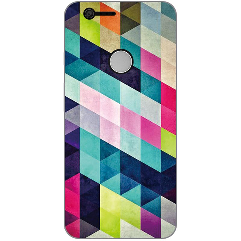 Style Phone Case Colour Mobile Phone Shell For LG Google Pixel XL Hard Plastic Phone Case Colorful Painting Skin Shell