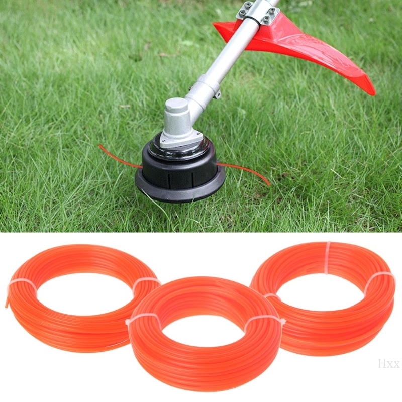 2/2.4/3mm X 15M Nylon Trimmer Line Brush Cutter Strimmer Rope Lawn Mower Wire OOTDTY