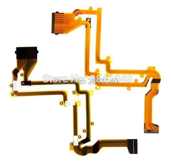 NEW LCD Flex Cable For Panasonic HC-V500GK V500 V500M V520 V550 M Video Camera Repair Part