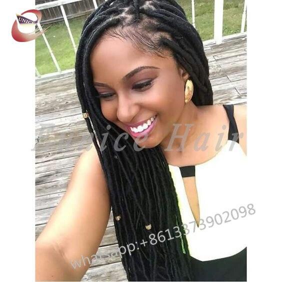 Full Colour Crochet Braiding Locs Best Straight Hair Extensions24