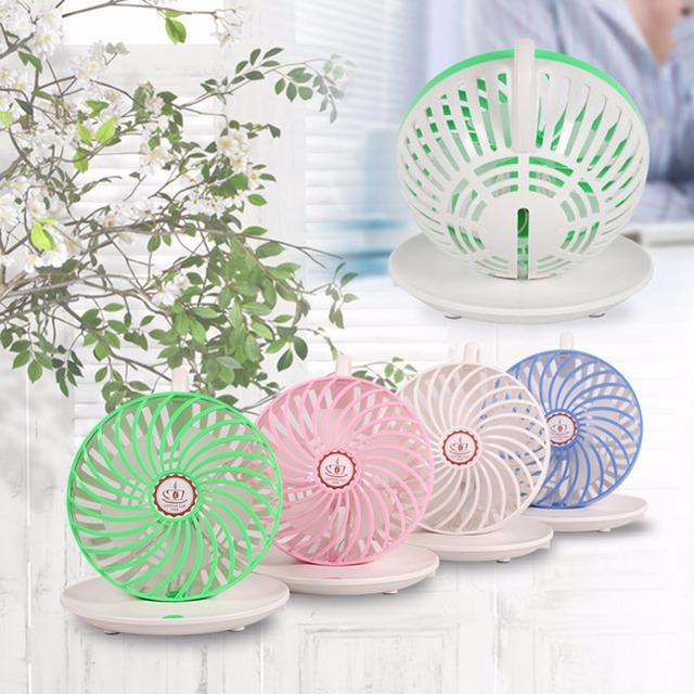 Portátil ventilador eléctrico mini ventilador usb gadget flexible portatil ventilateur ventiladores usb con alimentación para mesa de enfriamiento del ordenador portátil