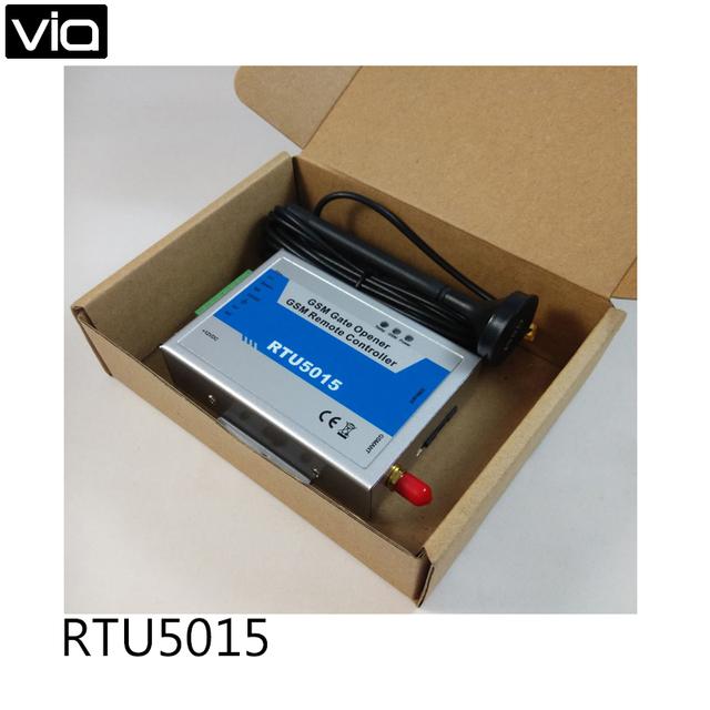 WAFER Frete Grátis GSM Portão Opener RTU5015 Portão Remoto Controlador de Interruptor de Controle Remoto Do Telefone Móvel da faixa do quadrilátero 850/900/1800/190