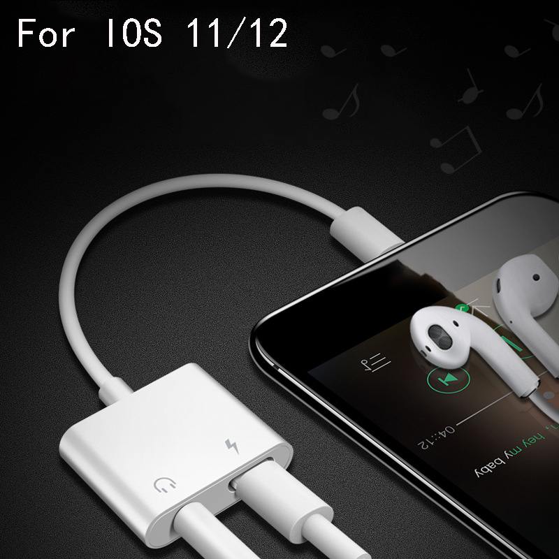 Aux Cord - iPhone Adaptor & Charger 3