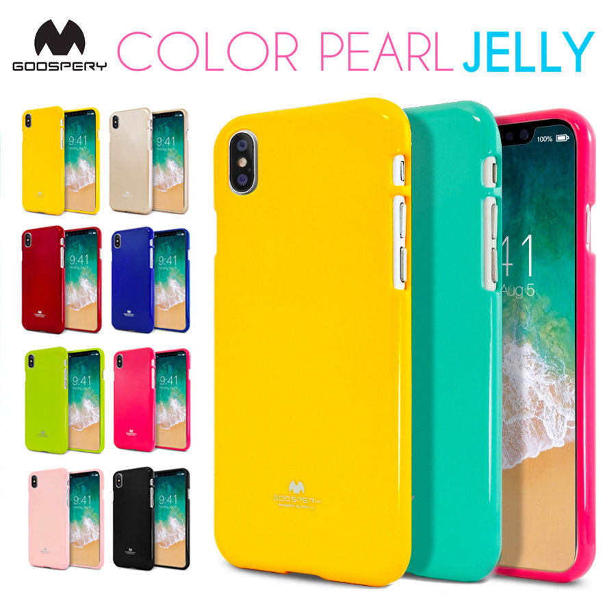 Mercury Goospery Soft Feeling Jelly Slim Tpu Bumper Case Cover For Pearl All Type Special  Gold Iphone X Original Shockproof Gel