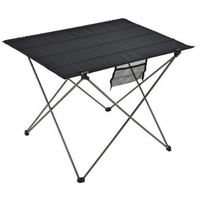 Outdoor dining table Portable Foldable Folding Table Desk Camping Outdoor Picnic Aluminium Alloy Ultra light 1