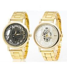 Hot sale Women's Stainless Steel Pointer Quartz Wrist Watch