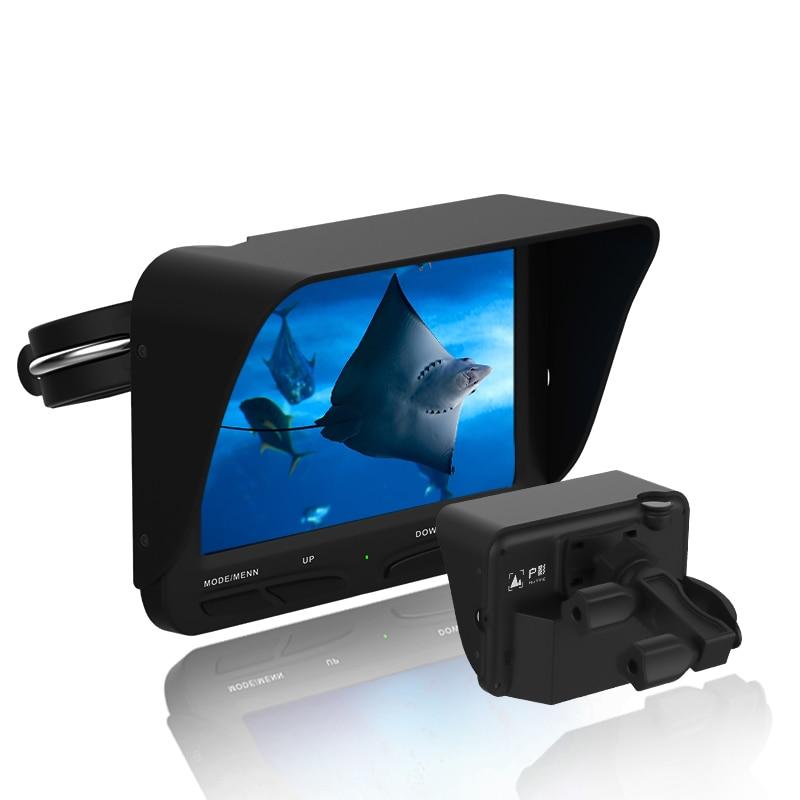 Hu Ying Fish Finder Video 30 Meter Line 140 Degree High Definition Night Vision Lens Multi Scene Fishing 4.3 LCD 8pcs IR LED