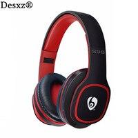 Desxz S98 אלחוטי Bluetooth אוזניות סטריאו מבטל רעשים עם מיקרופון דיבורית נייד רדיו FM חריץ TF לטלפון