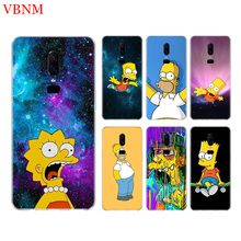Bart Simpson Fantasy Silicome Phone Back Case For Oneplus 3 3T 5 5T 6 6T 7 Plus Gift Art Patterned Customized Cover Coque Cases