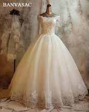 Wedding Lace Dresses Crystals