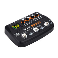 NUX MG 200 Guitar Modeling Processor Guitar Multi effects Processor with 55 Effect Models EU Plug Top Quality Guitar Parts