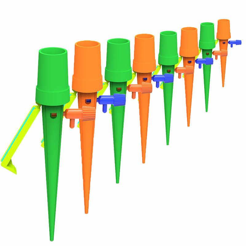 Automatyczne nawadnianie Spike dla roślin kwiat automatyczne nawadnianie kroplowe system nawadniania kryty Waterers butelka nawadniania kropelkowego