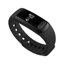 Смарт-браслеты SMS push водонепроницаемый мониторинга сердечного ритма браслет шагомер Ми Fit PK ID107 miband fitbit для iOS и Android